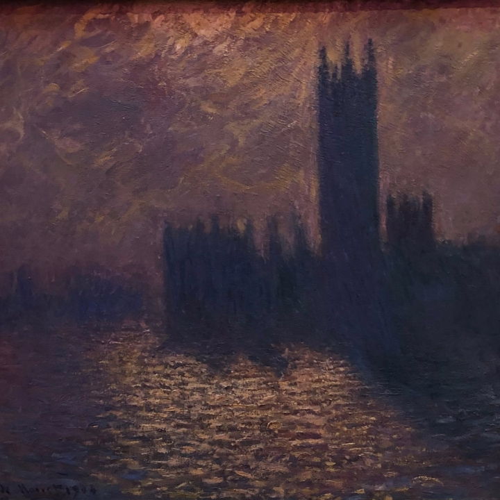 Claude monet, house of parliament, London parliament, Maserati grand tour